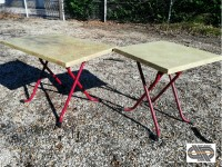 Lot 30 tables de bistrot avec plateau repliable – SM France